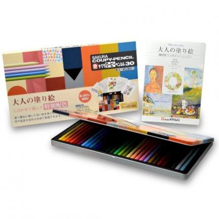 Amazon.co.jp: サクラクレパス クーピーペンシル30 FY30NU カラーオンカラー: ホビー