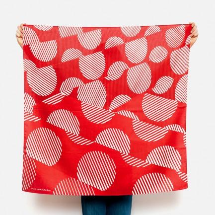 日式风吕敷丝巾 | 日剧里的小包裹 便当巾