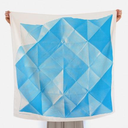 日式风吕敷丝巾-折纸 | 日剧里的小包裹 便当巾