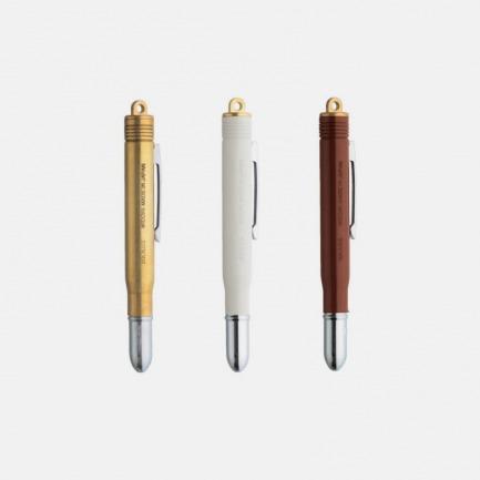 黄铜材质复古圆珠笔 | 日本顶级生活文具品牌 越用越好