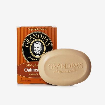 Grandpa's爷爷的菜园天然有机燕麦润肤皂 92g