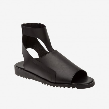 MUGLER Leather sandal