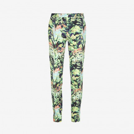 KENZO abstract print trouser