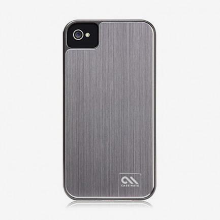 Case-mate 苹果iphone4S手机壳 金属拉丝外壳