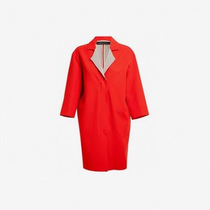 Roland Mouret Paddington Crepe Wool Cocoon Coat - Browns - Farfetch.com