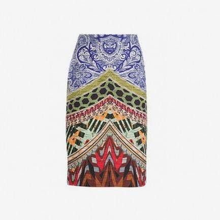 Etro Multi Print Skirt - Biedermann En Vogue - Farfetch.com