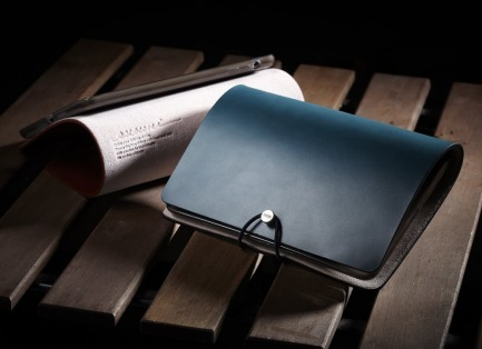 EVOUNI L07-0BN Leather Arc Cover for iPad Mini