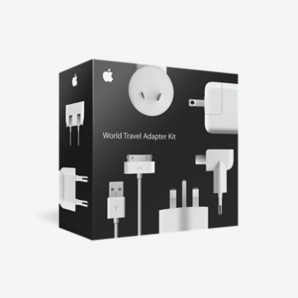 Apple World Travel Adaptor Kit全球通用适配器套装