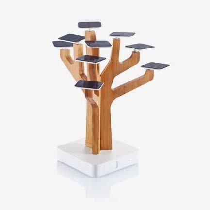 ideashow 树形太阳能充电器