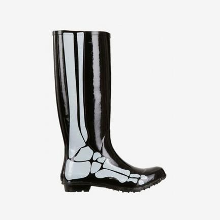 Be&D印骨骼雨靴