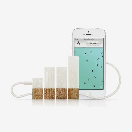 Lapka iphone配件 个人环境检测器  保卫您的健康!
