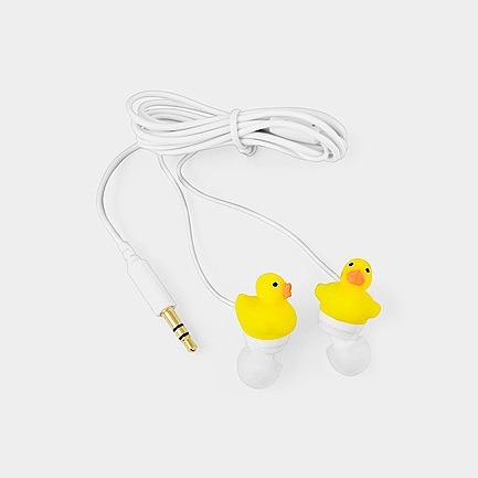 小黄鸭耳机