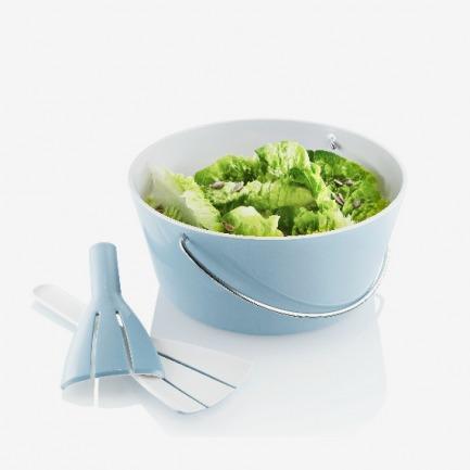 丹麦Eva Solo 轻食色拉叉匙组/大沙拉碗勺