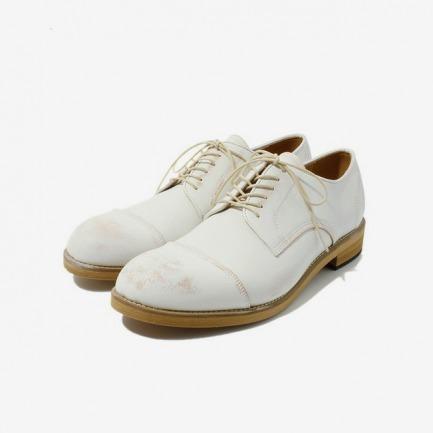 ZUCCA 白色皮鞋