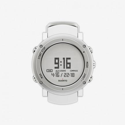 松拓颂拓Suunto Core 12新款核心纯白铝户外运动功能登山海拔手表