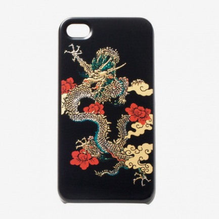 LACQUERED DRAGON IPHONE 4 CASE