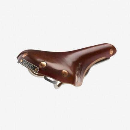 brooks布鲁克斯牛皮坐垫Swift Titanium钛弓复古座垫