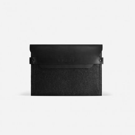 iPad手工信封保护套 | 植鞣皮与羊毛毡