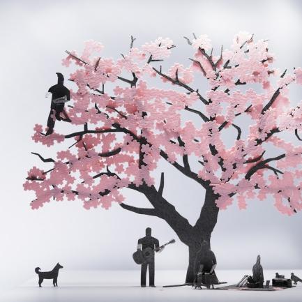 樱花 纸艺模型 11 | 多次获得日本优良设计大奖