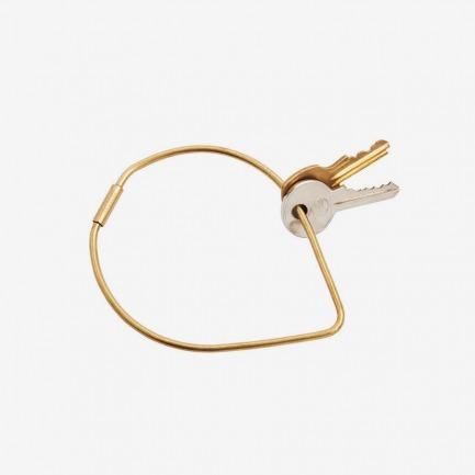 Contour Key Ring: Drop