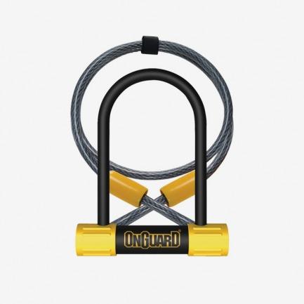 OnGuard Bulldog Mini U-lock & Cable电缆车锁