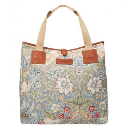 Barbour William Morris经典印花购物袋