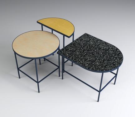 Flip It! tables by Marte Frøystad