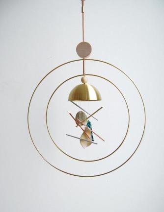 Aura Double Ring Chime — L & G Studio