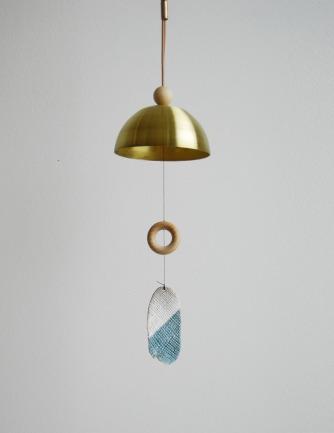 Aura Brass Bell Chime — L & G Studio
