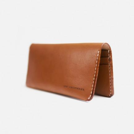 """复古实用长钱包(三色)   设计师手中""""养""""出来的皮具"""