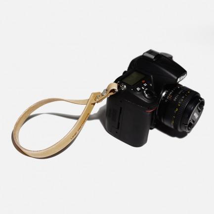 手作相机腕带 | 意大利植鞣皮 手工打磨