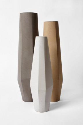 'Marchigüe' concrete vase collection