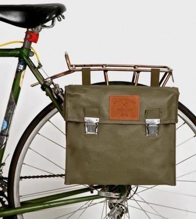 Vintage Vinyl Bicycle Pannier