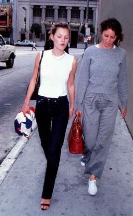 Kate Moss & Christy Turlington