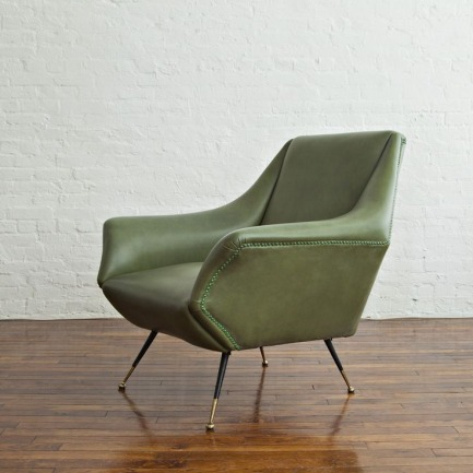Pair of Lounge Chairs by Gio Ponti