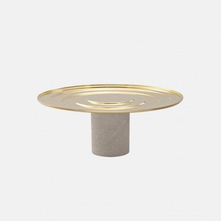 大理石黄铜蛋糕托盘 | 英国鬼才设计师品牌