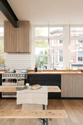 Kitchen of the Week: The New Urban Rustic Kitchen, Clerkenwell Edition by Julie Carlson