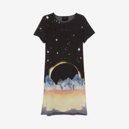 Lulu & Co Eclipse silk dress NET-A-PORTER.COM