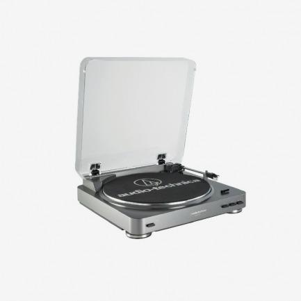 铁三角全自动黑胶唱盘机Audio Technica AT-LP60 USB