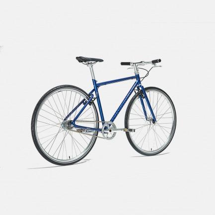 能自动变速的自行车 天际蓝 | 黑科技骑行 内置蓝牙传感器