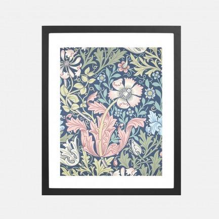 自然植物装饰画 蓝调康普顿 | 英国William Morris所绘