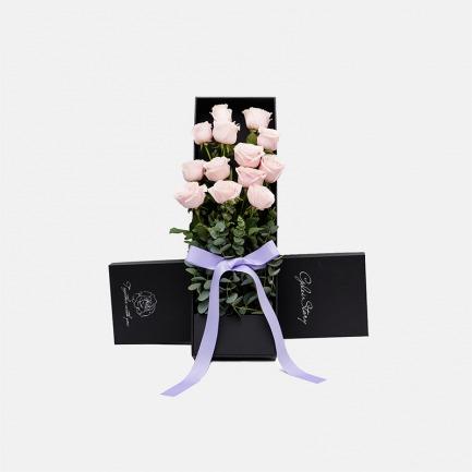 玫瑰人生鲜花礼盒-多款 | 精选9支肯尼亚玫瑰