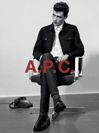 A.P.C. F/W 15 RESSORT COLLECTION. ADRIEN SAHORES SHOT BY COLLIER SCHORR.