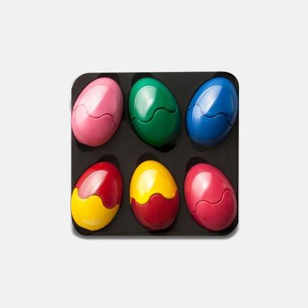 趣味玩具蜡笔 6色彩蛋款 | 安全认证 宝宝玩得更安心