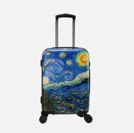 梵高系列 星夜/星空旅行箱   艺术限定系列 时尚轻巧