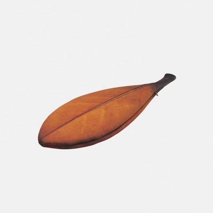树叶造型手拿包 一片棕叶   简约的自然趣味 轻盈实用
