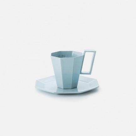 马克杯&杯垫套组 清晨蓝