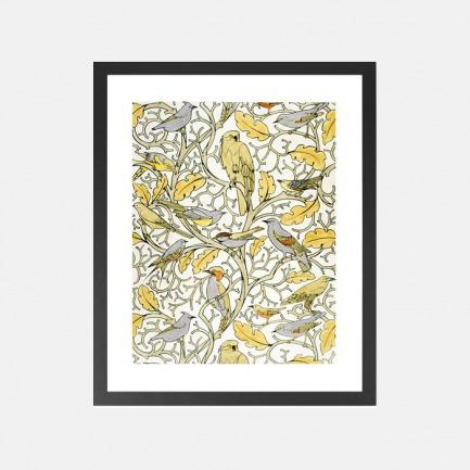 自然图案装饰画 水彩壁纸 | 英国C.F.A.Voysey所绘