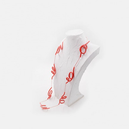 抽象设计感PVC项链 | 趣味十足 充满艺术性