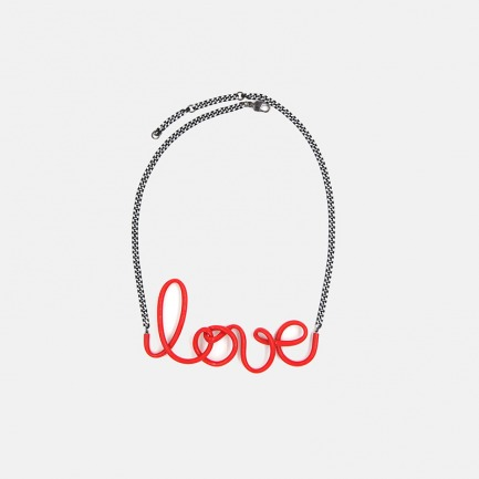 以爱之名PVC项链 LOVE | 趣味十足的独立设计